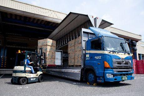 【岡崎】パレット積み!大型トラックドライバー